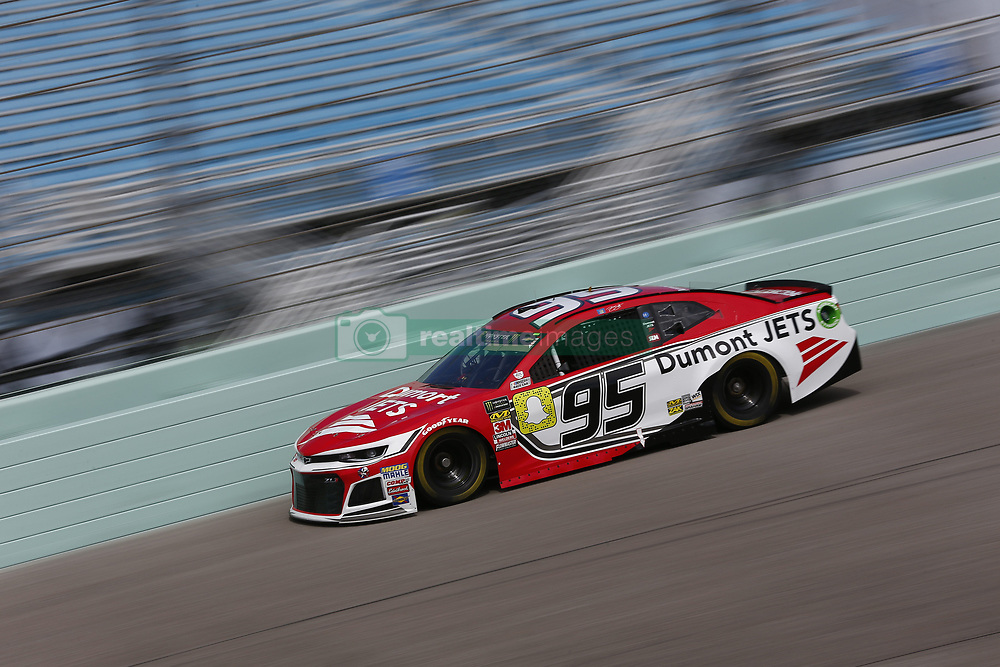 November 17, 2018 - Homestead, Florida, U.S. - Regan Smith (95) takes to the track to practice for the Ford 400 at Homestead-Miami Speedway in Homestead, Florida. (Credit Image: © Justin R. Noe Asp Inc/ASP)