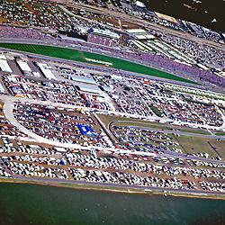 Aerial view of Daytona International Speedway, Daytona, Florida