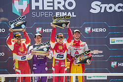 December 9, 2018 - Sao Paulo, Sao Paulo, Brazil - Nov, 2018 - Winners of the final stage of the 2018 championship of the Brazilian Stock Car, at Interlagos circuit, in Sao Paulo, Brazil. (Credit Image: © Paulo Lopes via ZUMA Wire) (Credit Image: © Paulo Lopes/ZUMA Wire)