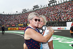 October 29, 2017 - Mexico-City, Mexico - Motorsports: FIA Formula One World Championship 2017, Grand Prix of Mexico, .Lewis Hamiltons mother Carmen and Angela Cullen  (Credit Image: © Hoch Zwei via ZUMA Wire)