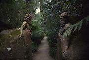 William Ricketts Sanctuary, Mt. Dandenong, Australia<br />