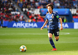 I I Jun Endo during the FIFA Women's World Cup group D first round soccer match between Argentina and Japan at Parc des Princes Stadium in Paris, France on June 10, 2019. The FIFA Women's World Cup France 2019 will take place in France from 7 June until 7 July 2019. Photo by Christian Liewig/ABACAPRESS.COM