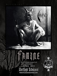 FAMINE LP NOW AVAILABLE. 180-200 gram vinyl includes huge download and poster. <br /> http://worthlessendeavors.com