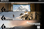 Black Diamond: Website (2010)