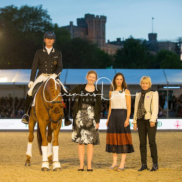 Hester Carl, GBR, Barolo<br /> Grand Prix Freestyle  <br /> Royal Windsor Horse Show<br /> © Hippo Foto - Jon Stroud