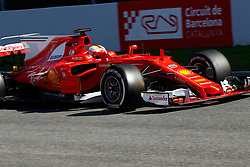 March 7, 2017 - Barcelona, Cataluna, Spain - Motorsports: FIA Formula One World Championship 2017, Test in Barcelona,.Sebastian Vettel (GER, Scuderia Ferrari) (Credit Image: © Hoch Zwei via ZUMA Wire)
