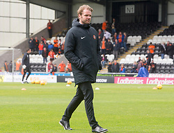 Dundee Utd boss Robbie Neilson during the Ladbrokes Premiership play-off final, second leg match at the Simple Digital Arena, St Mirren.