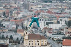 04.01.2019, Bergiselschanze, Innsbruck, AUT, FIS Weltcup Skisprung, Vierschanzentournee, Innsbruck, Training, im Bild Stefan Huber (AUT) // Stefan Huber of Austria during his Trainings Jump for the Four Hills Tournament of FIS Ski Jumping World Cup at Bergiselschanze in Innsbruck, Austria on 2019/01/04. EXPA Pictures © 2019, PhotoCredit: EXPA/ Dominik Angerer