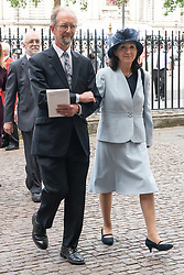 June 15, 2018 - London, London, United Kingdom - Jonathan Hellyer Jones and Jane Hawking  attends the memorial service for Professor Stephen Hawking at Westminster Abbey in London, United Kingdom, 15 June 2018 (Credit Image: © Ray Tang via ZUMA Press)