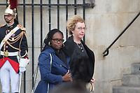 Muriel Pénicot _Sibeth Ndiaye  Obsèques de Jacques Chirac Lundi 30 Septembre 2019 église Saint Sulpice Paris