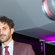 NLD/Amsterdam/20161117 - Esquire Best Geklede Man 2016, winnaar Achmed Akkabi
