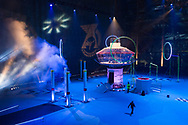 First day of shooting of the new children TV show Airmageddon at Hanger 2, Cardington Studios, Bedford, MK42 0TF
