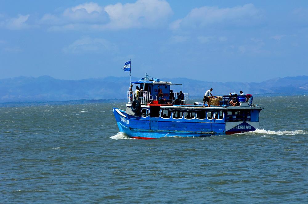 Nicaragua / Isla de Ometepe Ferry / Lake Nicaragua