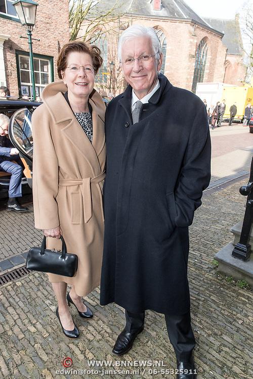 NLD/Naarden/20180330 - Matthaus Passion in de grote kerk van Naarden 2018, Maartje van Weegen en partner Joop Daalmeijer