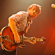 Washington, D.C. - July 26th, 2010:  Blues-rock duo The Black Keys (guitarist Dan Auerbach and drummer Patrick Carney) begin the thier summer tour at DAR Constitution Hall in Washington, D.C. The band is currently touring behind their latest release, Brothers. (Photo by Kyle Gustafson/For The Washington Post)
