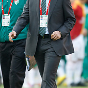 Bursaspor's coach Ertugrul SAGLAM (R) during their Turkish Super League soccer match Galatasaray between Bursaspor at the AliSamiYen Stadium at Mecidiyekoy in Istanbul Turkey on Sunday 25 April 2010. Photo by Aykut AKICI/TURKPIX