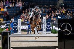 Fredricson Peder, SWE, H&M Zaloubet<br /> Stuttgart - German Masters 2018<br /> © Hippo Foto - Stefan Lafrentz