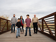 Call family photos at the wet lands in henderson nevada. portraits of sons, mom and dad, along with group images including some with grandpa