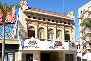 Temple Zion on Main Street in Downtown Santa Ana