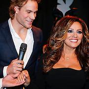 NLD/Amsterdam/20121206 - Onthulling Playboy Tatjana Simic kalender, Dirk Taat en Tatjana