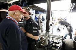 October 7, 2017 - Suzuka, Japan - Motorsports: FIA Formula One World Championship 2017, Grand Prix of Japan, .Niki Lauda (AUT, Mercedes AMG Petronas Formula One Team) (Credit Image: © Hoch Zwei via ZUMA Wire)