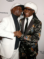 April 27, 2018 - New York City, New York, U.S. - Hip hop artist GRANDMASTER FLASH  and musician NILE RODGERS attends the 2018 We Are Family Foundation Celebration Gala held at the Hammerstein Ballroom. (Credit Image: © Nancy Kaszerman via ZUMA Wire)
