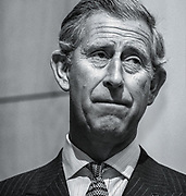 Prince Charles photographed at a speaking engagement at the Integrated medicine conference, London 2004