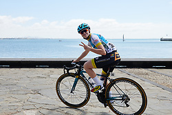 Marie Soleil Blais (CAN) at Deakin University Elite Women Cadel Evans Road Race 2019, a 113 km road race starting and finishing in Geelong, Australia on January 26, 2019. Photo by Sean Robinson/velofocus.com