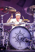 Shannon Larkin, Drums for Godsmack 2019 Fall Tour October 13th, 2019 in Ontario, California at the Toyota Arena