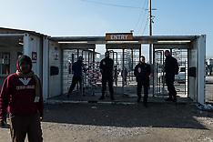 France: Calais Jungle migrant camp, 23 Oct. 2016