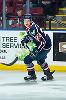KELOWNA, BC - FEBRUARY 12: Parker Bell #22 of the Tri-City Americans skates against the Kelowna Rockets at Prospera Place on February 8, 2020 in Kelowna, Canada. (Photo by Marissa Baecker/Shoot the Breeze)