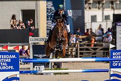 Von Eckermann Henrik, SWE, Mary Lou 194<br /> European Championship Jumping<br /> Rotterdam 2019<br /> © Dirk Caremans<br /> Von Eckermann Henrik, SWE, Mary Lou 194