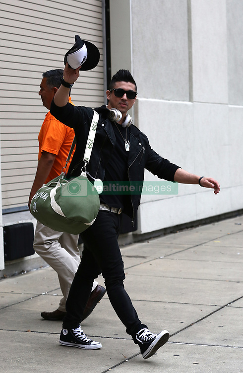 EXCLUSIVE: The Miz, The Bella Twins and many WWE Wrestlers are seen as they prepare for Wrestlemania 34 in New Orleans, Louisiana. 07 Apr 2018 Pictured: TJ Perkins. Photo credit: MEGA TheMegaAgency.com +1 888 505 6342