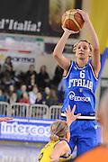 DESCRIZIONE : Parma Palaciti Nazionale Italia femminile Basket Parma<br /> GIOCATORE : Sabrina Cinili<br /> CATEGORIA : tiro<br /> SQUADRA : Italia femminile<br /> EVENTO : amichevole<br /> GARA : Italia femminile Basket Parma<br /> DATA : 13/11/2012<br /> SPORT : Pallacanestro <br /> AUTORE : Agenzia Ciamillo-Castoria/ GiulioCiamillo<br /> Galleria : Lega Basket A 2012-2013 <br /> Fotonotizia :  Parma Palaciti Nazionale Italia femminile Basket Parma<br /> Predefinita :