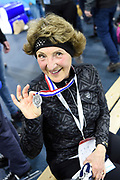 De vierde editie van De Hollandse 100 in Thialf, Heerenveen. De Hollandse 100 is een initiatief van stichting Lymph&Co. Stichting Lymph&Co steunt grensverleggend onderzoek om de behandeling van lymfklierkanker te verbeteren<br /> <br /> Op de foto:  Prinses Margriet