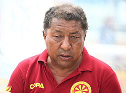 May 31, 2018 - London, United Kingdom - Penpa Tsering Head Coach of Tibet.during Conifa Paddy Power World Football Cup 2018  Group B match between  Abkhazia  against Tibet at Queen Elizabeth II Stadium (Enfield Town FC), London, on 31 May 2018  (Credit Image: © Kieran Galvin/NurPhoto via ZUMA Press)