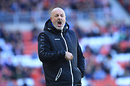 Keith Hill during the EFL Sky Bet League 1 match between Sunderland and Rochdale at the Stadium Of Light, Sunderland, England on 22 September 2018.