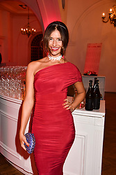 Lara Fraser at the Floral Ball in aid of Sheba Medical Center hosted by Laura Pradelska and Zoe Hardman and held at One Marylebone, 1 Marylebone Road, London England. 14 March 2017.