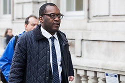 London, UK. 6th December, 2018. Kwasi Kwarteng, Conservative MP for Spelthorne, passes during a Privy Council meeting at the Cabinet Office.