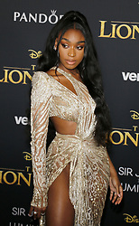 Normani at the World premiere of 'The Lion King' held at the Dolby Theatre in Hollywood, USA on July 9, 2019.