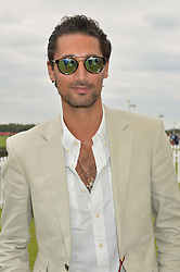 HUGO TAYLOR at the Cartier Queen's Cup Polo final at Guard's Polo Club, Smiths Lawn, Windsor Great Park, Egham, Surrey on 14th June 2015