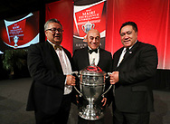 Omapere Taraire & Rangihamama Trust were named as the winners of this years Ahuwhenua Trophy BNZ Maori Excellence in Farming Award at a dinner held in Whangarei, 26 May 2017. Photo by John Cowpland / alphapix<br /> <br /> CONDITIONS of USE:<br /> <br /> FREE for editorial use in direct relation the Ahuwhenua Trophy competition. ie. not to be used for general stories about the finalist or farming.<br /> <br /> NO archiving of images. NO commercial use. <br /> Please contact John@alphapix.co.nz if you have any questions