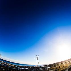 Samsung's seven megawatt wind turbine, Methil