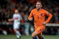 07-10-2016 NED: WK kwalificatie Nederland - Wit-Rusland, Rotterdam<br /> Het Nederlands elftal heeft in De Kuip een 4-1 overwinning op Wit-Rusland geboekt / Vincent Janssen scoort de 4-1