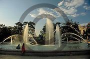 Philadelphia Fountains, Eakins Circle, Ben Franklin Parkway, Philadelphia, PA