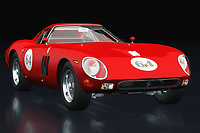 Ferrari 250 GTO from 1964 is a separate model of Ferrari because besides style this Ferrari 250GTO also exudes toughness. The Ferrari 250 GTO from 1964 was and is a maverick that certainly attracts the attention of a young audience who are averse to classics but are looking for the limits of decency.<br />