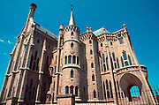 SPAIN, CASTILE and LEON ASTORGA; Episcopal Palace built by Catalan architect Antonio Gaudi in 1899