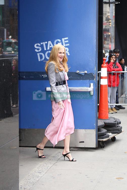 Nicole Kidman at Good Morning America. . 29 May 2019 Pictured: Nicole Kidman . Photo credit: Joe Russo / MEGA TheMegaAgency.com +1 888 505 6342