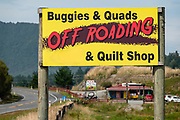 Buggies & Quads Off Roading & Quilt Shop in Runanga, near Greymouth, on the West Coast of New Zealand's South Island.