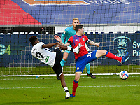Football - 2020 / 2021 Sky Bet Championship - Swansea City vs Blackburn Rovers - Liberty Stadium<br /> <br /> Jamal Lowe of Swansea City fails to connect in front of goal<br /> in a match played without fans<br /> <br /> COLORSPORT